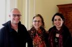 Con Anne Stoler y Nitzan Lebovic