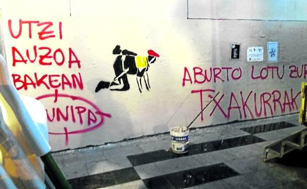 pintada-municipales-kazH-U40400945394qOF-624x385@El Correo